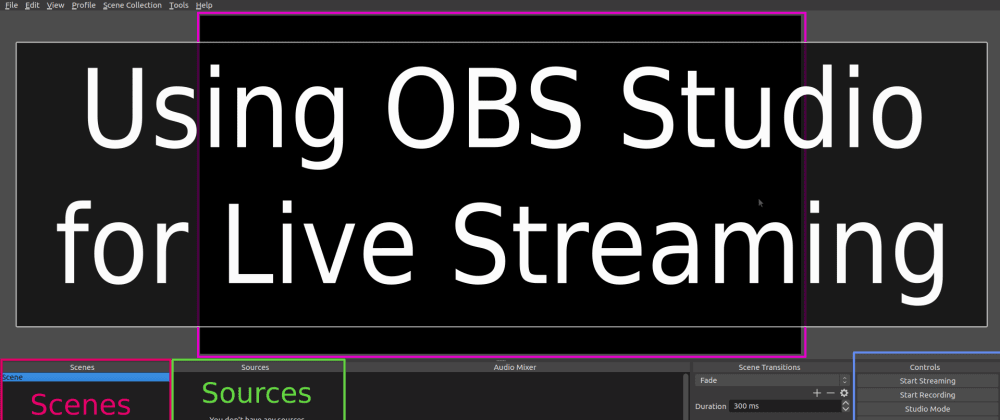 How to Use OBS Studio to Record or Stream Live Presentations