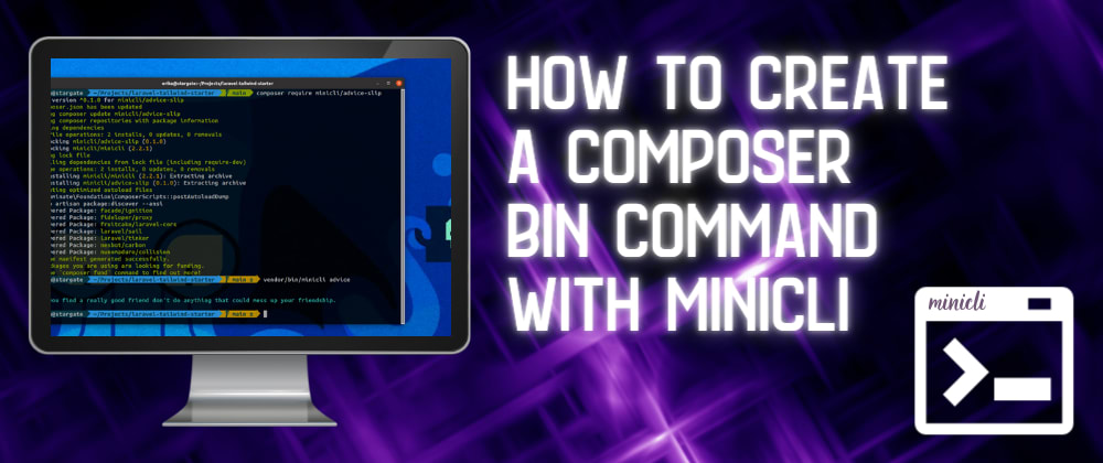 How To Create a Composer Bin Command with Minicli