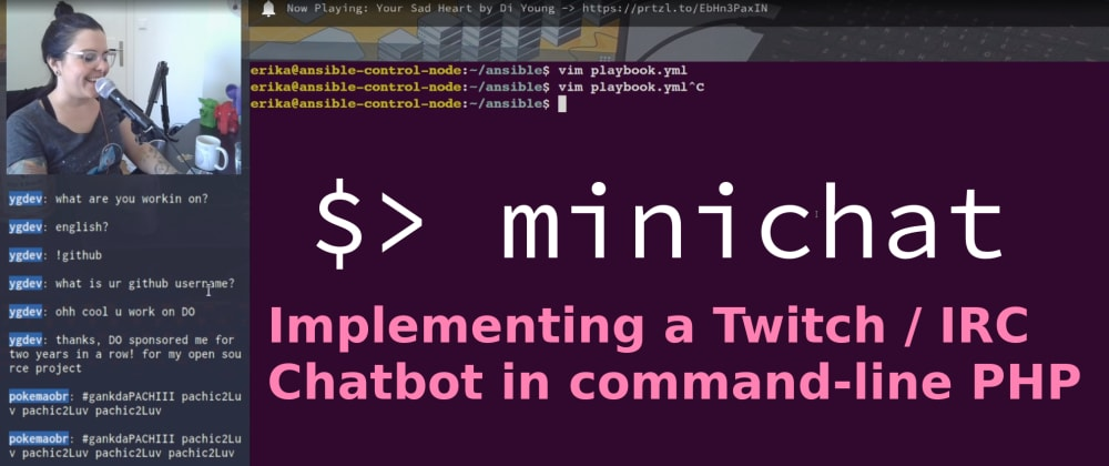 Creating a Twitch / IRC Chatbot in PHP with Minicli